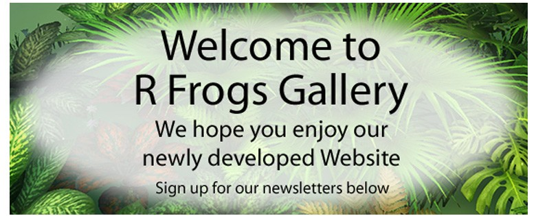 Welcome to R Frogs Gallery
