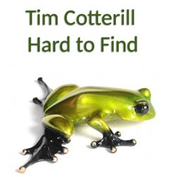 Tim Cotterill Hard to find sculptures