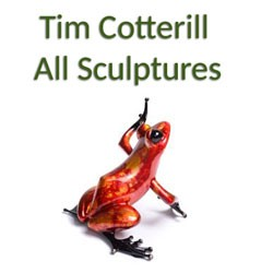 Tim Cotterill Frog Sculptures
